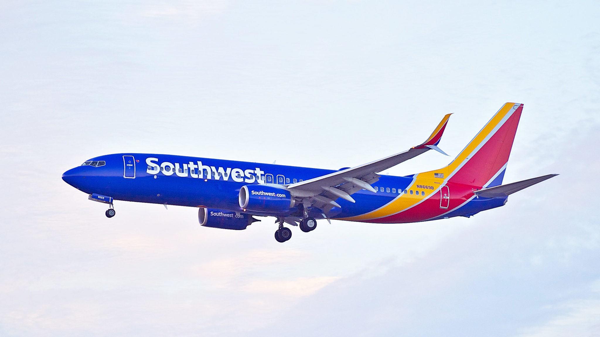 Southwest Airplane Clipart.