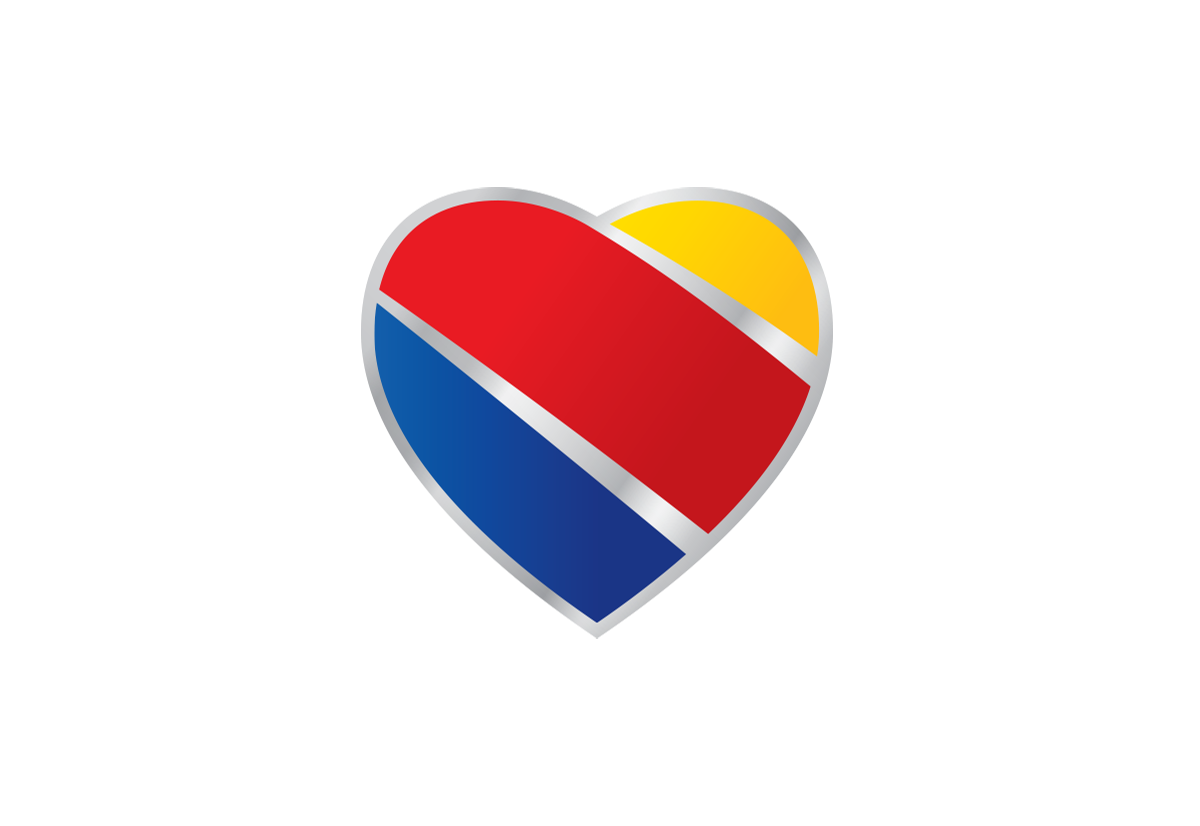 Southwest Airlines logo.