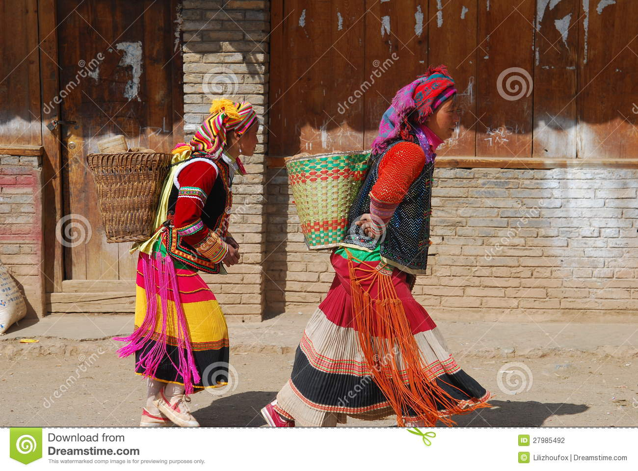 Yi People In Southwest China Editorial Photography.