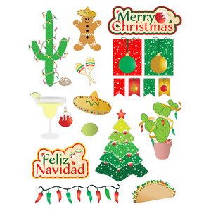 Silhouette Design Store: southwest christmas.