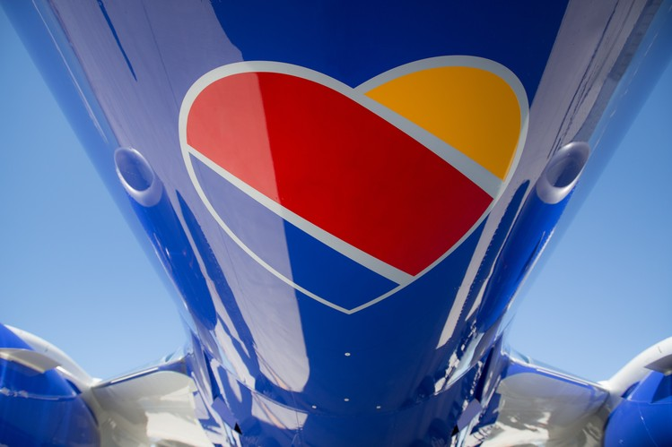 Southwest Airlines Unveils New Look Echoing Traditional.