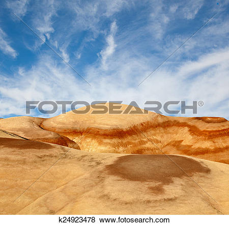 Pictures of Landscape of beautiful desert nature in Utah.