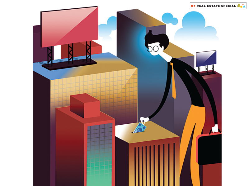 Global real estate funds are making a beeline for Indian.