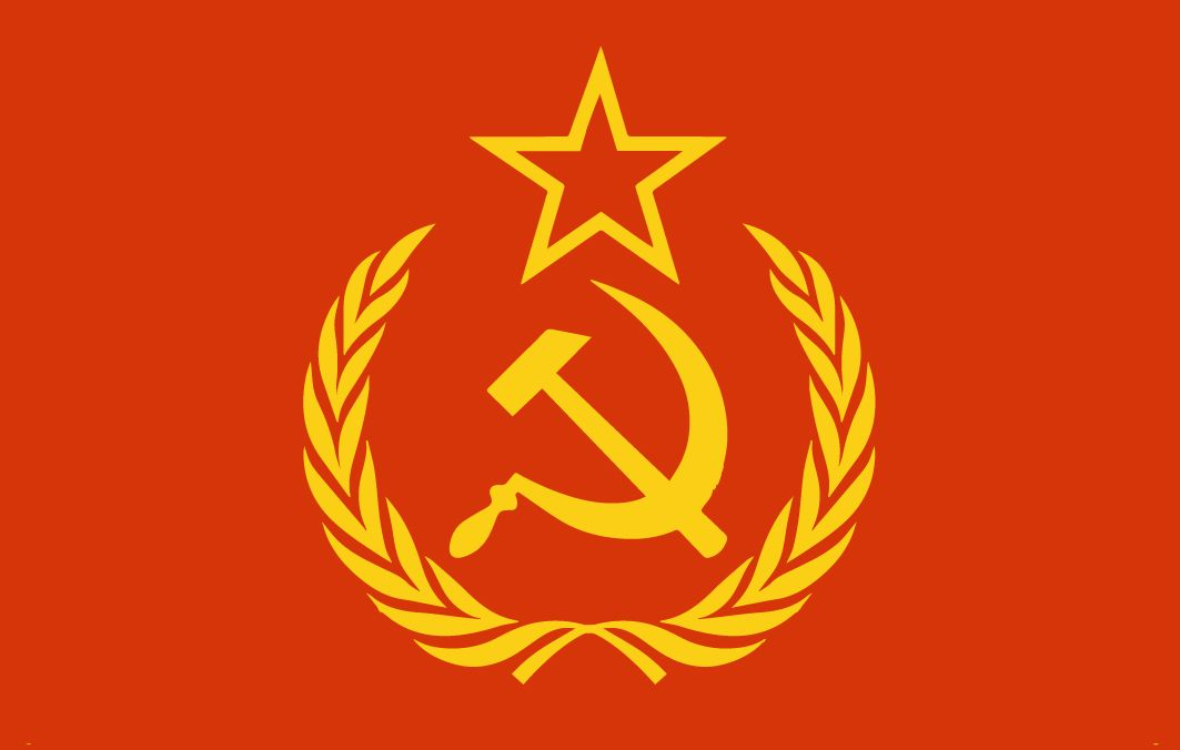 Hammer and Sickle, Soviet Union\'s / USSR\'s Symbol.