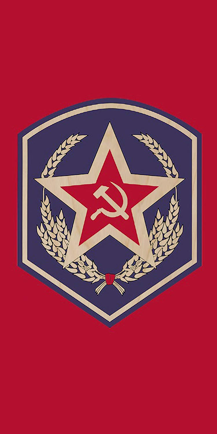 Amazon.com: Soviet Union USSR Communist Hammer & Sickle Logo.