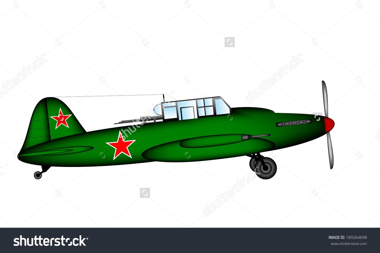 Russian Historic Tactical Plane Ilyushin Il.