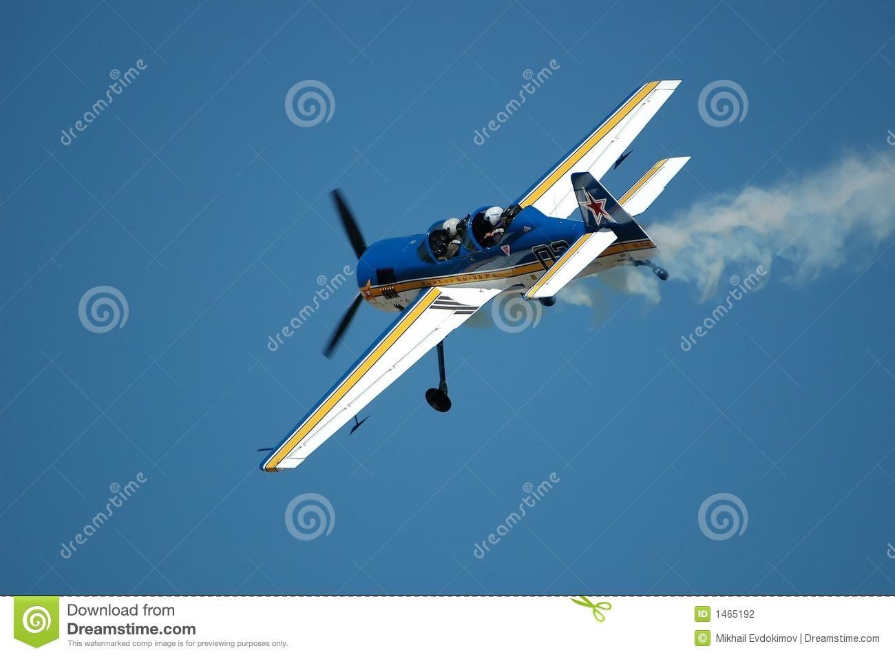 Russian Sports Aircraft Sukhoi Su.