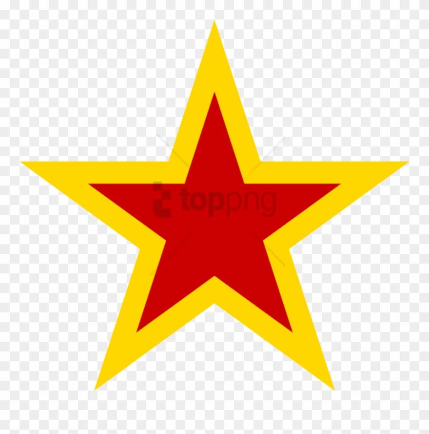 Urss Aviation Yellow Bordered Red Star.
