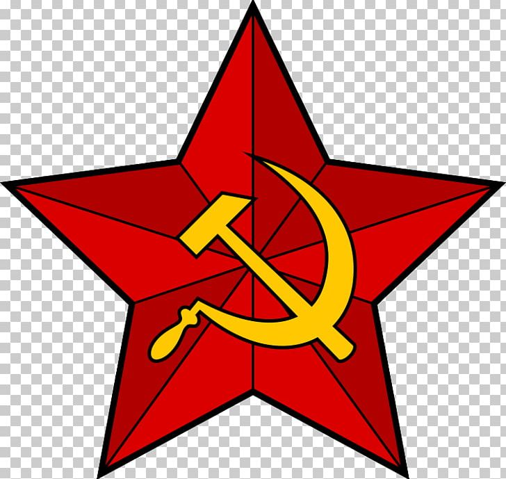 Soviet Union Hammer And Sickle Communism Red Star PNG.