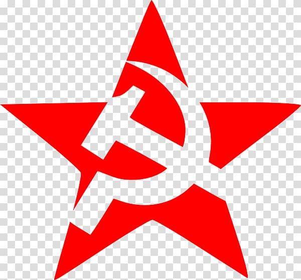 Star illustration, Soviet Union Hammer and sickle , hammer.