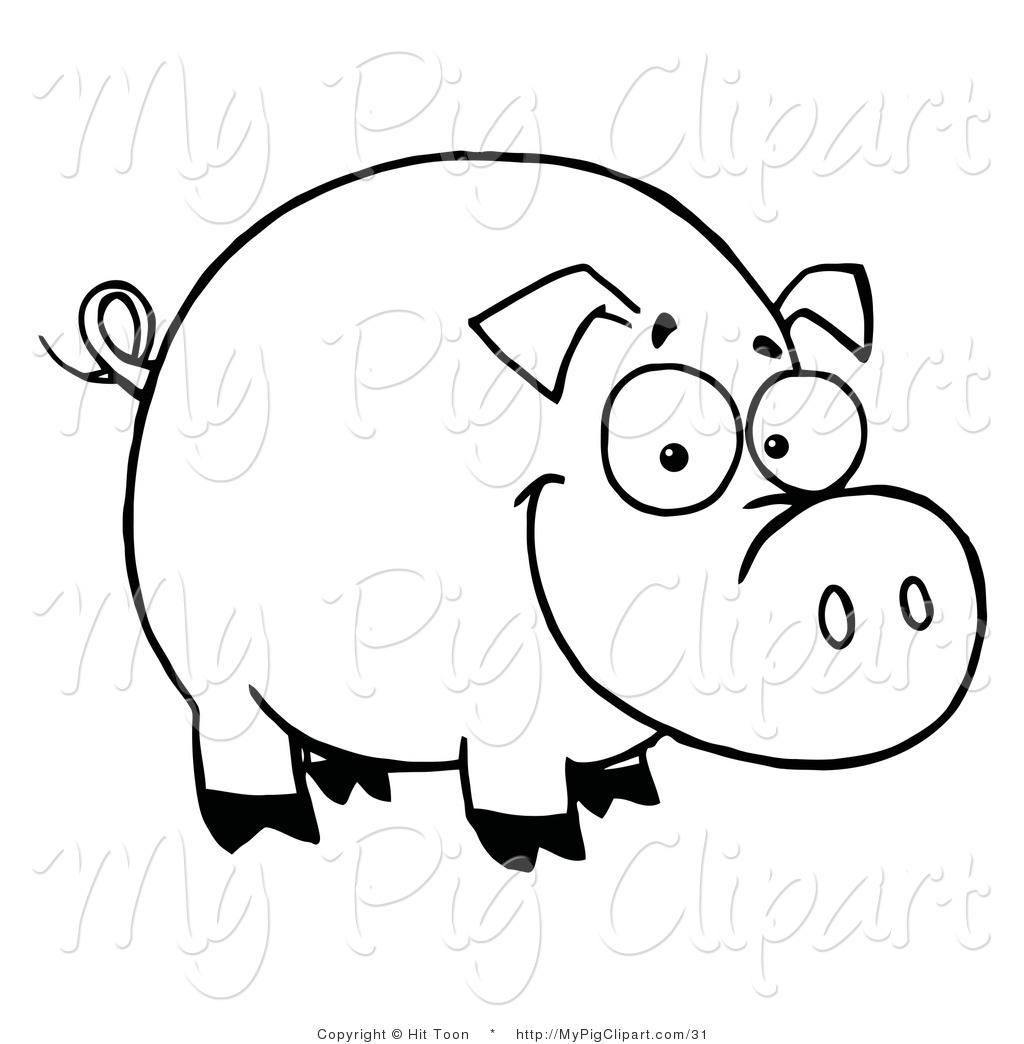 Show Swine Clipart.