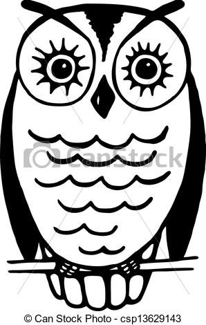 Drawing of Owl.