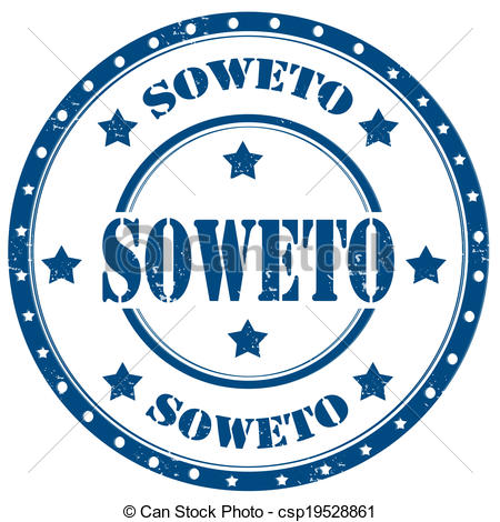 Clip Art Vector of Soweto.