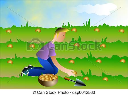 Sowing Clip Art and Stock Illustrations. 1,113 Sowing EPS.