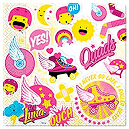 Amazon.com: Soy Luna 13x13 in Paper Napkins (20): Toys & Games.