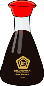 Clipart Soy Sauce.