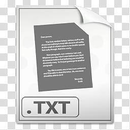 Soylent, TXT icon transparent background PNG clipart.