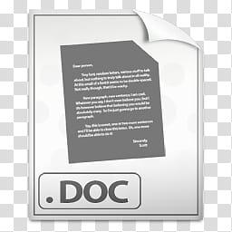 Soylent, DOC icon transparent background PNG clipart.
