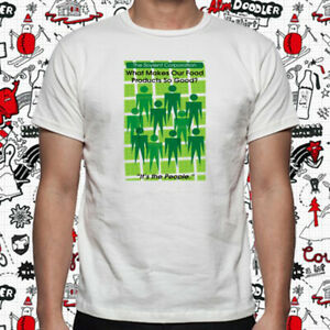 Details about The Soylent Green Movie Logo Men\'s White T.