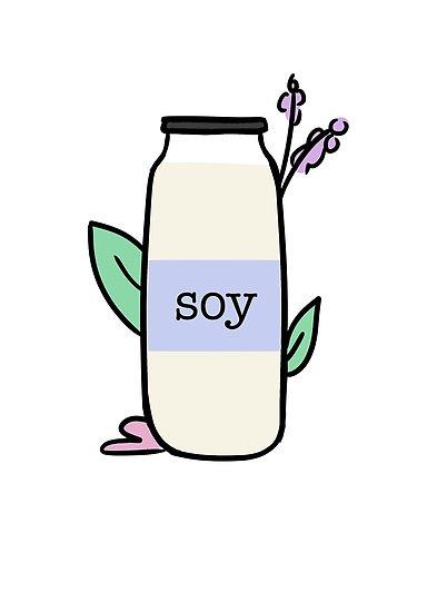 \'Soy Milk Bottle Cute\' Poster by tamekatheboob.