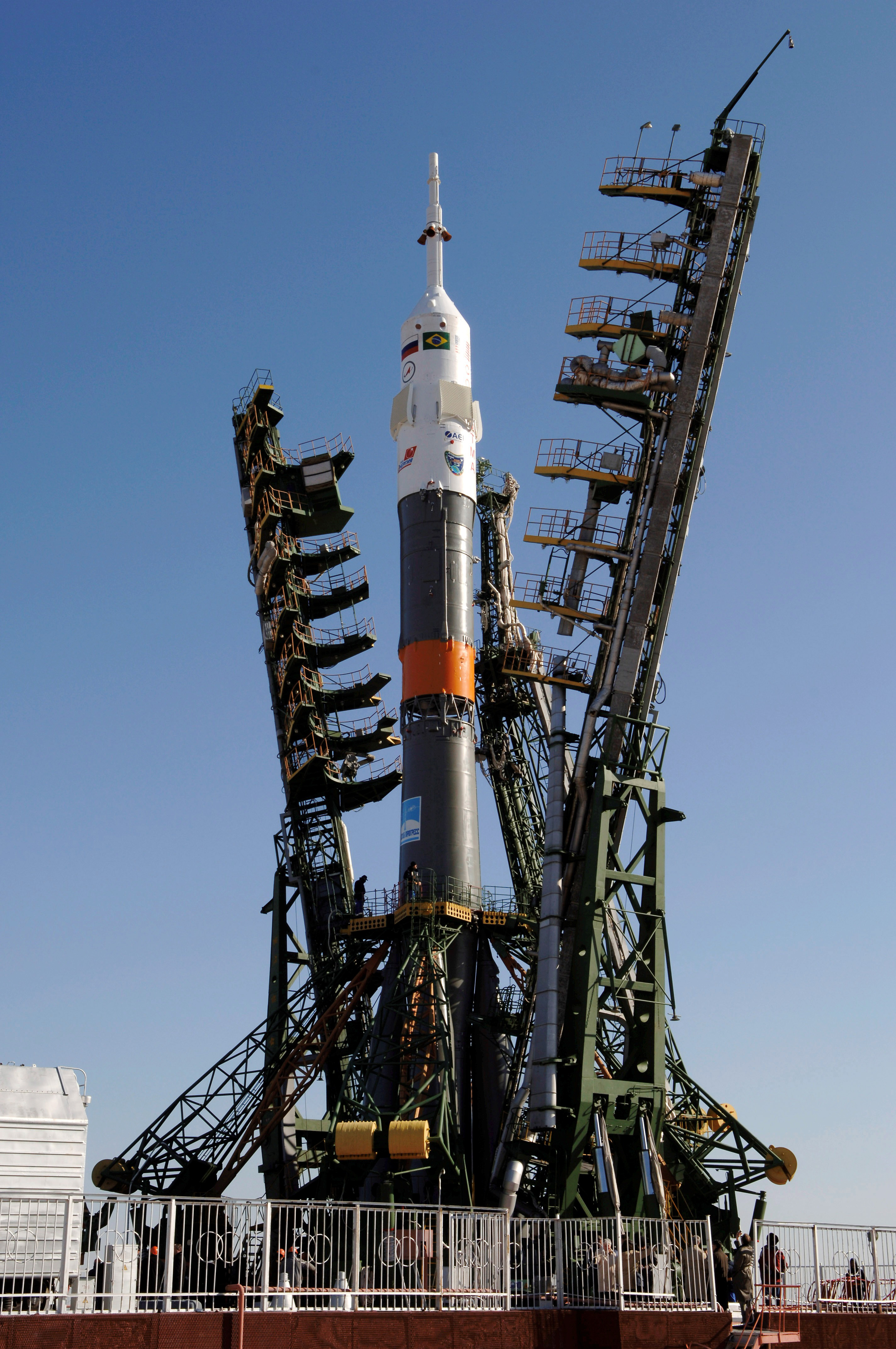 Expedition 13 Photograph of the Soyuz TMA.