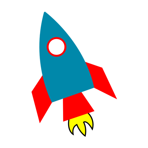 309 animated rocket clipart.