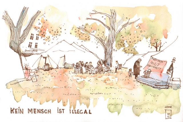 berlin.urbansketchers: November 2012.
