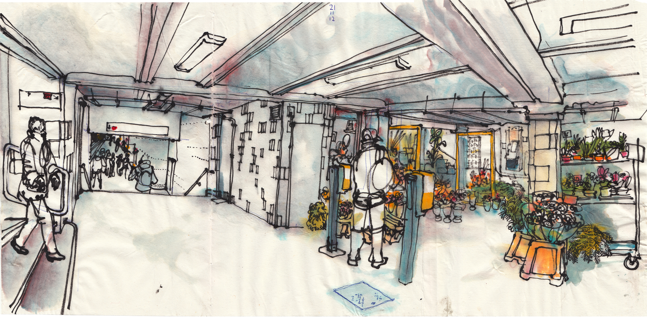 berlin.urbansketchers: November 2012.