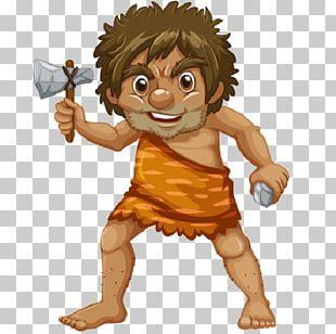 Hungry Caveman Neolithic Caveman Hunter PNG, Clipart, Beak.