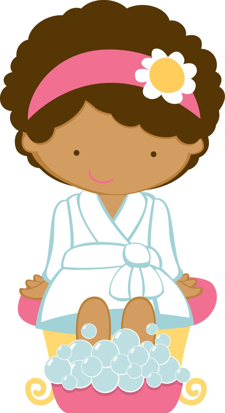 Printable Spa Clipart.