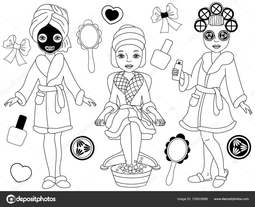 Spa clipart black and white 7 » Clipart Station.