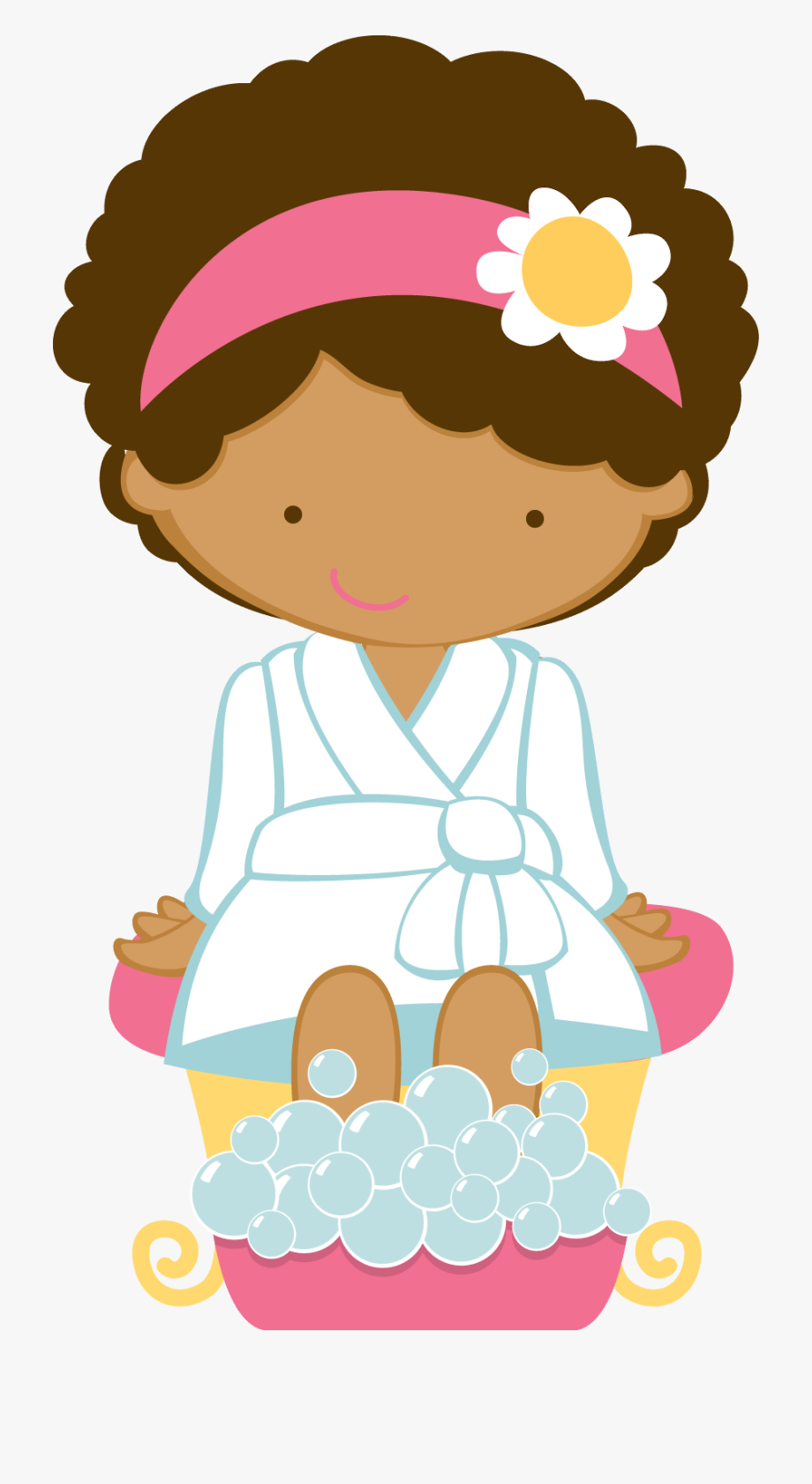 Spa Girl Clipart, Cliparts & Cartoons.