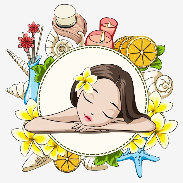 Beauty Spa Items, Beauty Clipart, Spa Clipart, Beauty Spa.