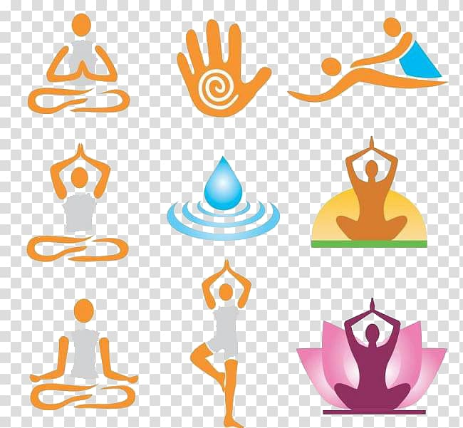 Massage Spa Icon, Yoga transparent background PNG clipart.