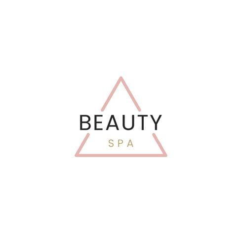 Beauty and spa logo vector.