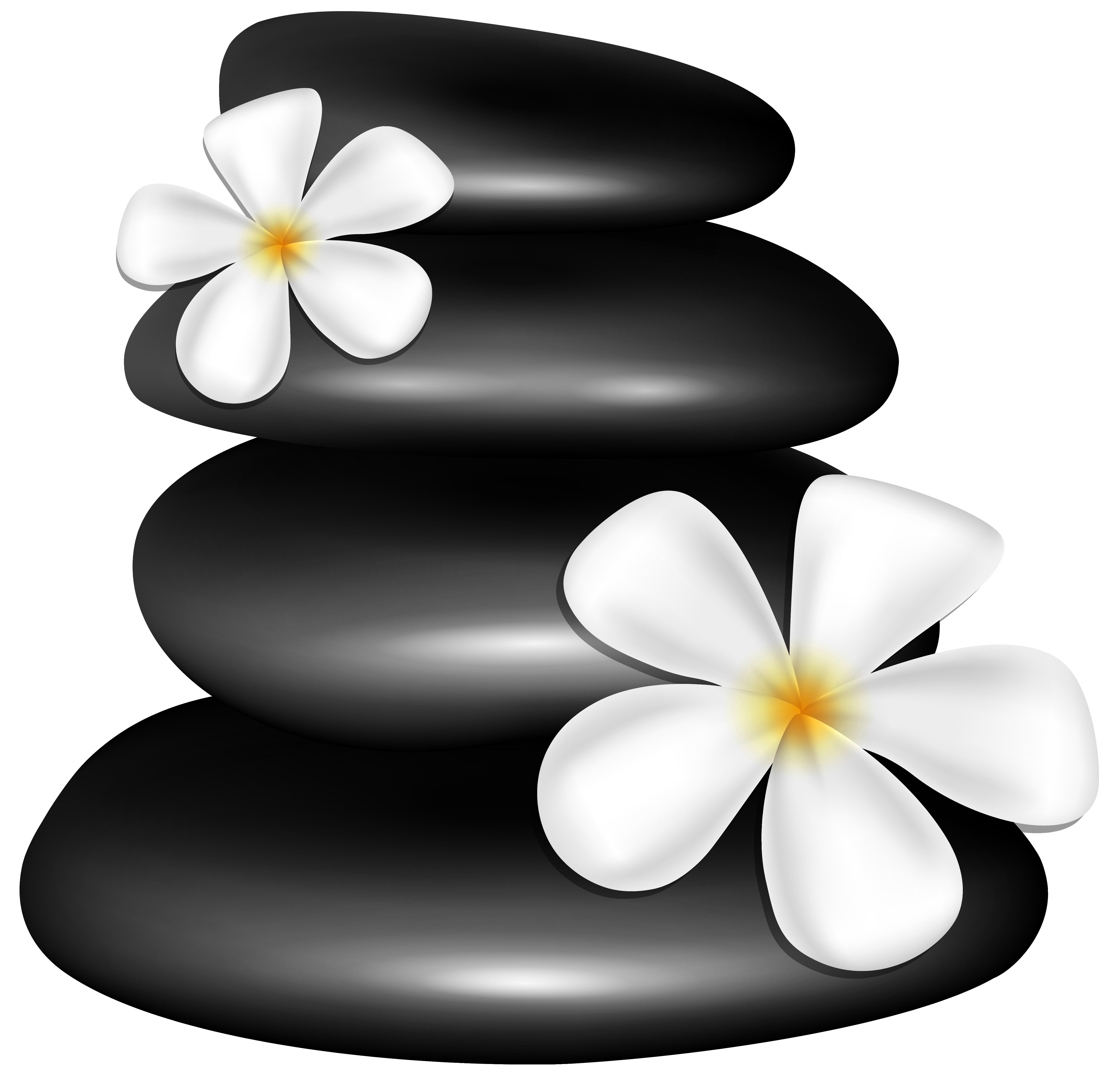 Spa Flowers Clipart.
