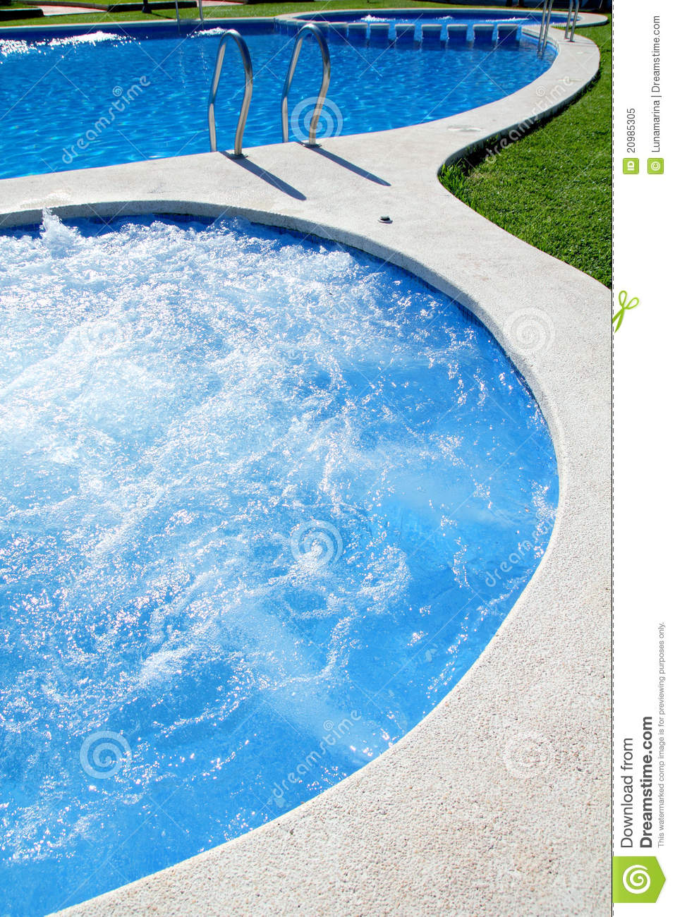 Pool and Spa Clip Art.