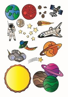 stars and planets clipart - Clipground
