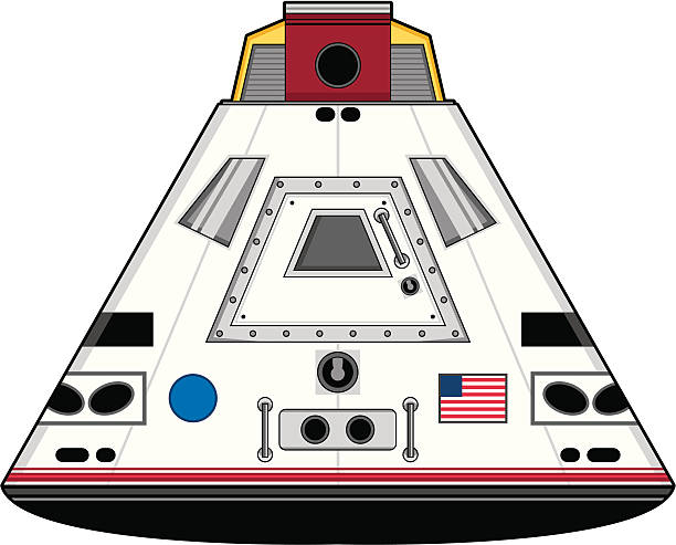 Space Capsule Clip Art, Vector Images & Illustrations.