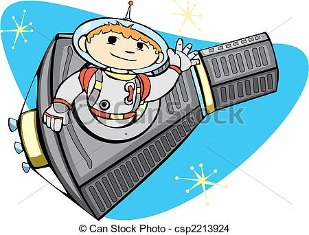 EPS Vector of Mercury Space Capsule.