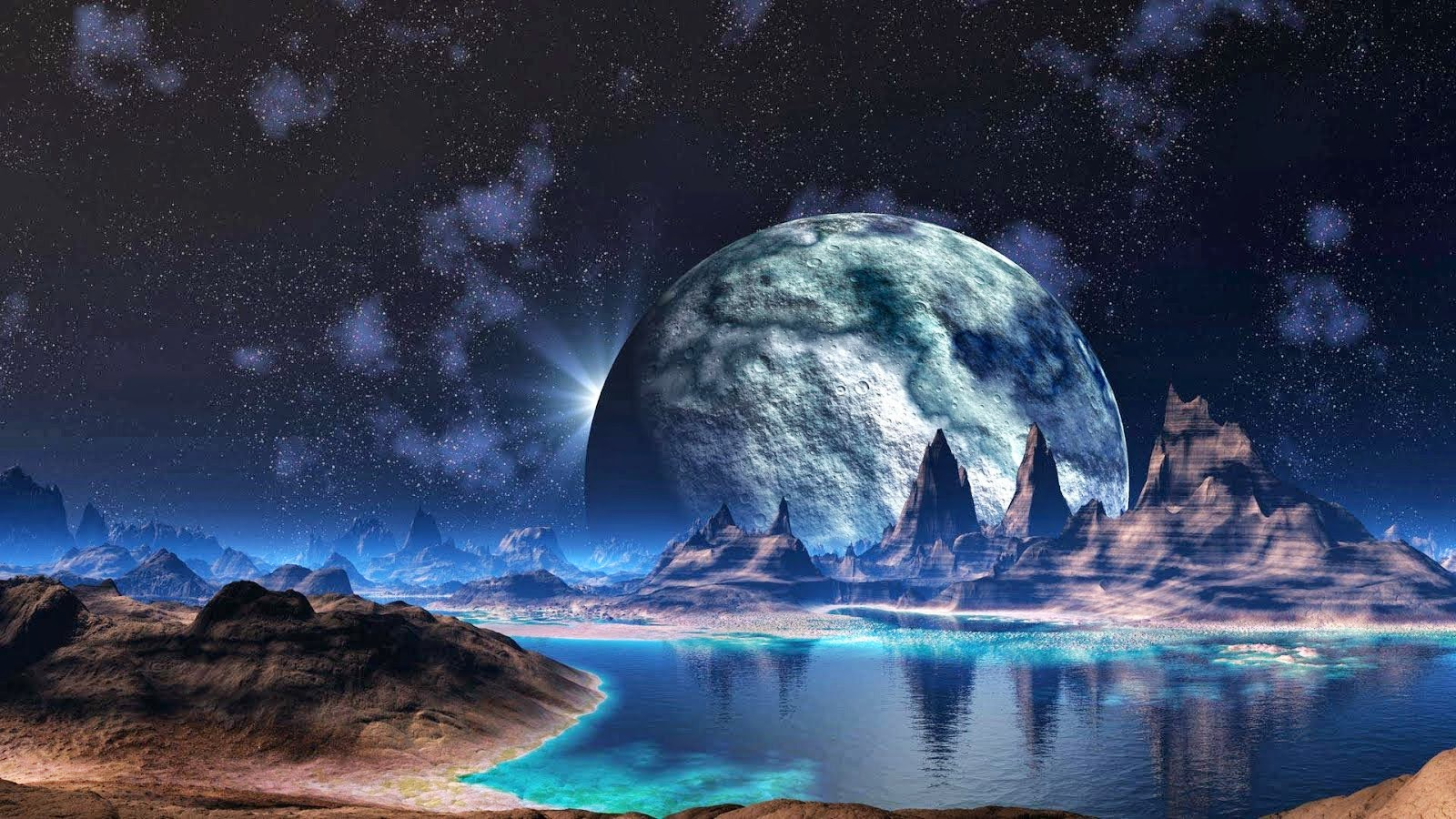 Free Hd Space Wallpapers.