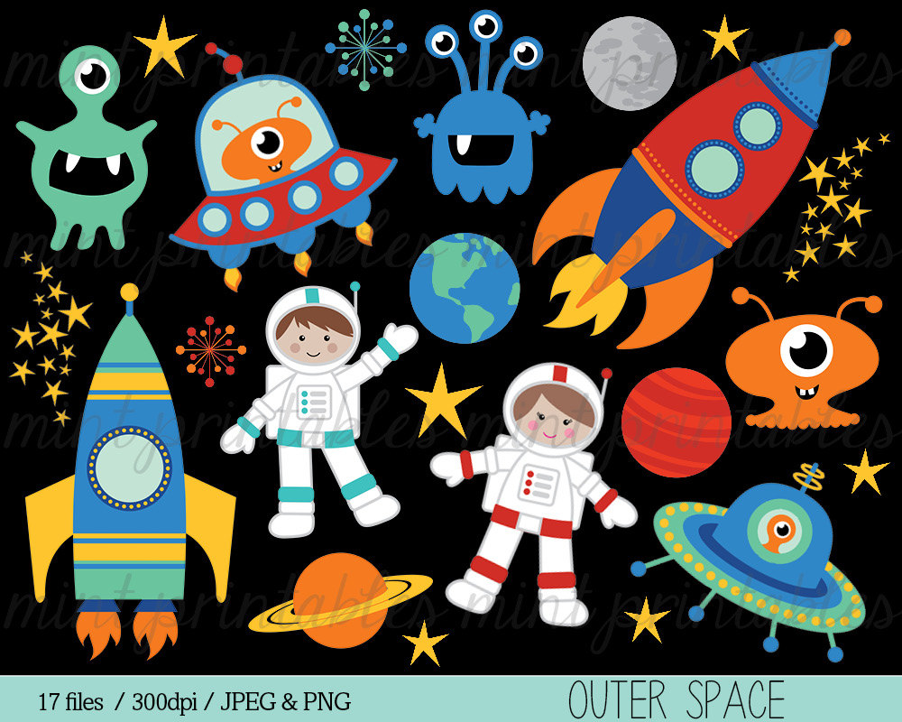 Outer Space Planets Clipart, Download Free Clip Art on.