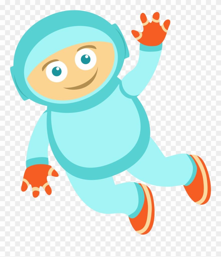 Cartoon Astronaut Png.