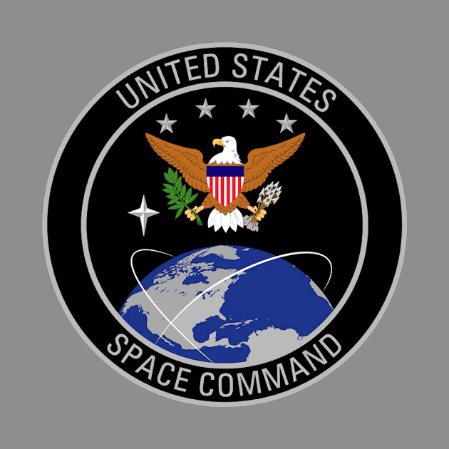 United States Space Command Logo.