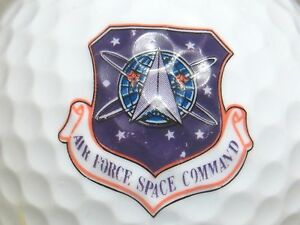 Details about (1) AIR FORCE SPACE COMMAND UNITED STATES LOGO GOLF BALL.