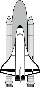 Space Shuttle Clip Art at Clker.com.