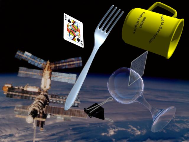 Space debris clipart.