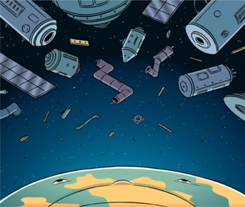 Lawrence Wein: A Proposal to Slow the Buildup of Space Junk.