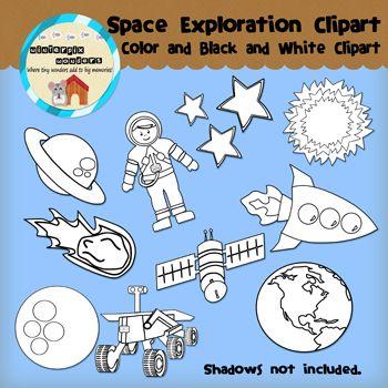 Clipart: Space Exploration.