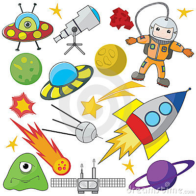 Cartoon Astronaut Space Stock Photos, Images, & Pictures.